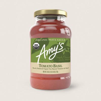 Organic Tomato Basil Pasta Sauce