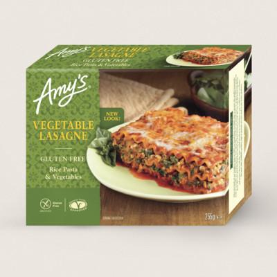 Vegetable Lasagne, Gluten Free