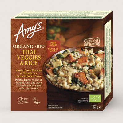 Organic Thai Veggies & Rice Bowl