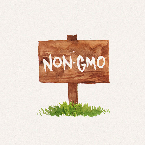 Amy's no GMO sign