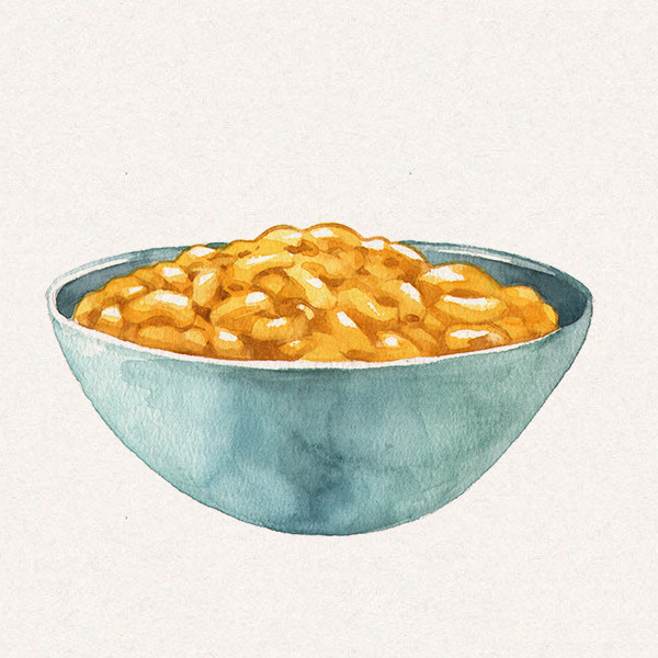 Amy's bowl of macaroni